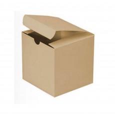 Kraft Treat Favour Boxes 7.5cm x 7.5cm x 8cm Pack of 12