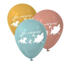 Teardrop Lion King Latex Balloons 30cm Pack of 6