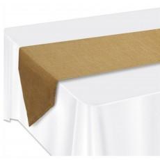 Kraft Faux Burlap Table Runner 1.83m