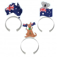 Australia Day Flag Headband Head Accessories