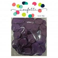 Purple Party Decorations - Confetti Tissue Paper Circles Purple