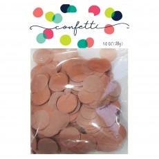 Pink Rose Gold Premium Tissue Paper Circles Confetti
