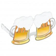Oktoberfest Fun Shades Beer Mugs Head Accessorie