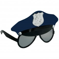 Police Fun Shades  Hat Head Accessorie