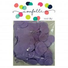 Lavender Tissue Paper Circles Confetti