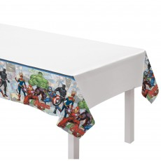 Avengers Party Supplies - Table Cover Marvel Powers Unite