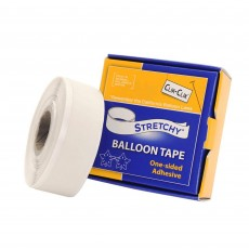 Balloon Equipment Stretchy Balloon Tape Party Decorations 19mm x 7.6m