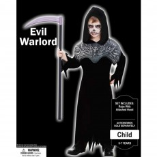 Halloween Evil Warlord Robe Child Costume