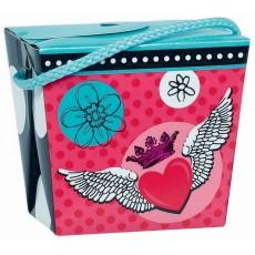 Rocker Princess Paper Pint Pail Favour Boxe