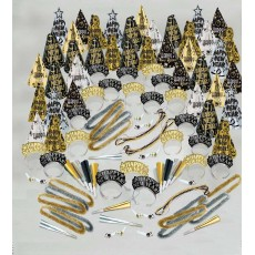 New Year Black, Gold & Silver Fantasy Party Boxe