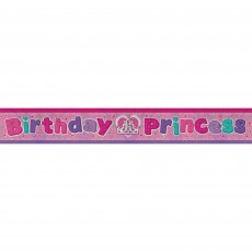 Princess Birthday  Foil Banner