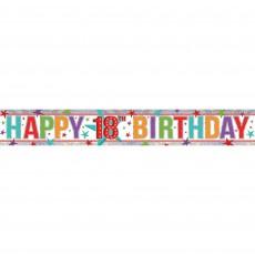 18th Birthday Banner