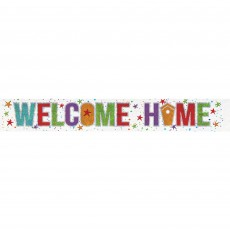 Welcome Foil Banner