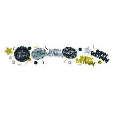 Happy Birthday Sparkling Celebration Confetti