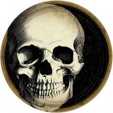 Halloween Boneyard Dinner Plates