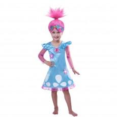 Trolls Wig & Poppy Child Costume