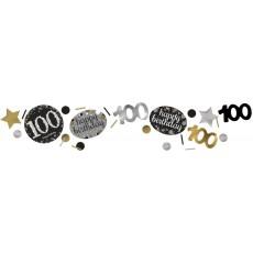 100th Birthday Sparkling Celebration Confetti 34g