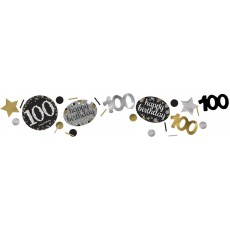 100th Birthday Sparkling Celebration Confetti