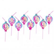 Barbie Dreamtopia Straws