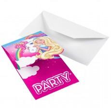 Barbie Dreamtopia Invitations 14cm Pack of 8