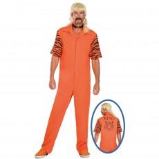 Disco & 70's Big Cat Convict Adult Costumes
