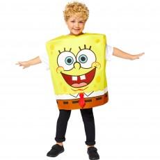 SpongeBob Boy Costume - 8-12 Years