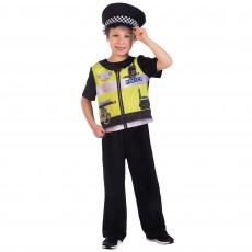 Sustainable Police Boy Costume - 8-10 Years