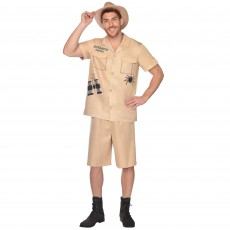 Outback Hunter Men Costume - Standard Size