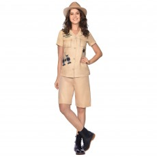 Outback Hunter Women Costume - Size 16-18