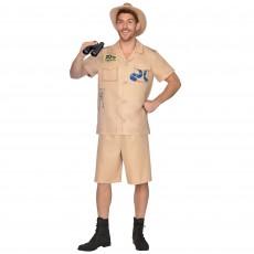 Zoo Keeper Men Costume - Standard Size
