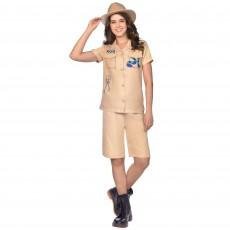 Zoo Keeper Women Costume - Size 8-10