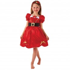 Christmas Miss Santa Child Costume