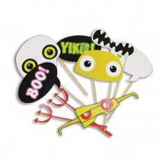 Halloween Party Supplies - Photo Props - Boo Crew Booth