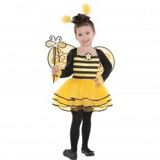 Ballerina Bee Girl Costume Size 4-6 Years
