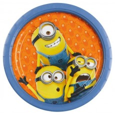 Minions Paper Dinner Plates