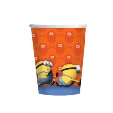 Minions Paper Cups 266ml Pack of 8