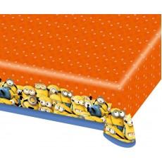 Minions Plastic Table Cover 1.8m x 1.2m