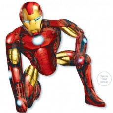 Avengers Iron Man Airwalker Foil Balloon 93cm x 116cm