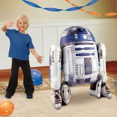 Star Wars Party Decorations - Airwalker Foil Balloon R2-D2
