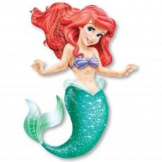 The Little Mermaid Ariel Airwalker Foil Balloon 96cm x 134cm