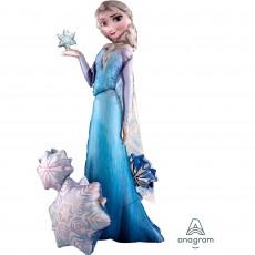 Disney Frozen Elsa the Snow Queen Airwalker Foil Balloon 88cm x 144cm