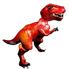 Dinosaur Tyrannosaurus T-Rex Airwalker Foil Balloon
