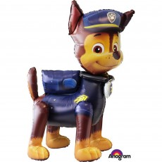 Paw Patrol Chase Character Airwalker Foil Balloon