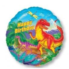 Dinosaur Standard XL Foil Balloon