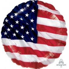 USA Flying Colours Standard XL Foil Balloon