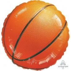 Round Basketball Fan Championship Standard HX Foil Balloon