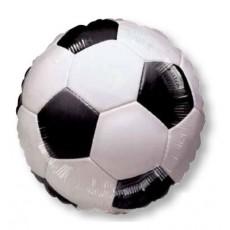 Round Soccer Standard XL Championship Foil Balloon 45cm