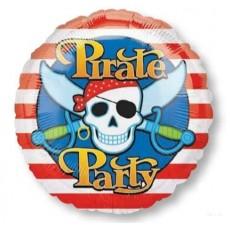 Pirate's Treasure Pirate Party Standard HX Foil Balloon