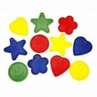 Multi Colour Primary ed Assorted Designs Balloon Weights