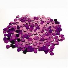 Purple Hearts Scatterfetti Confetti